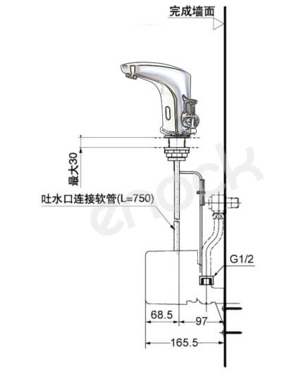 EK-8121安装尺寸图
