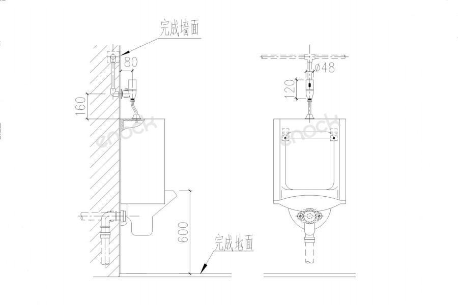 EK-8200安装图尺寸图