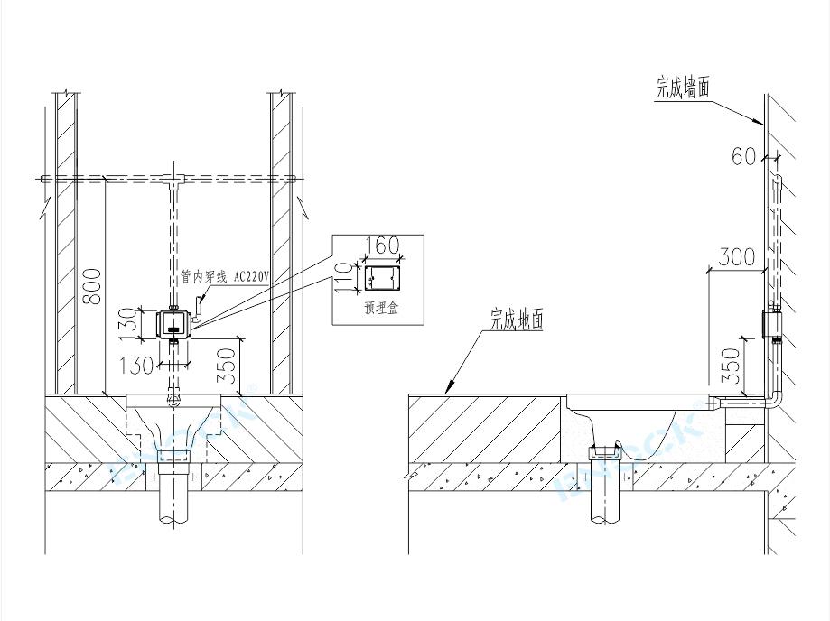 EK-8313安装图尺寸图