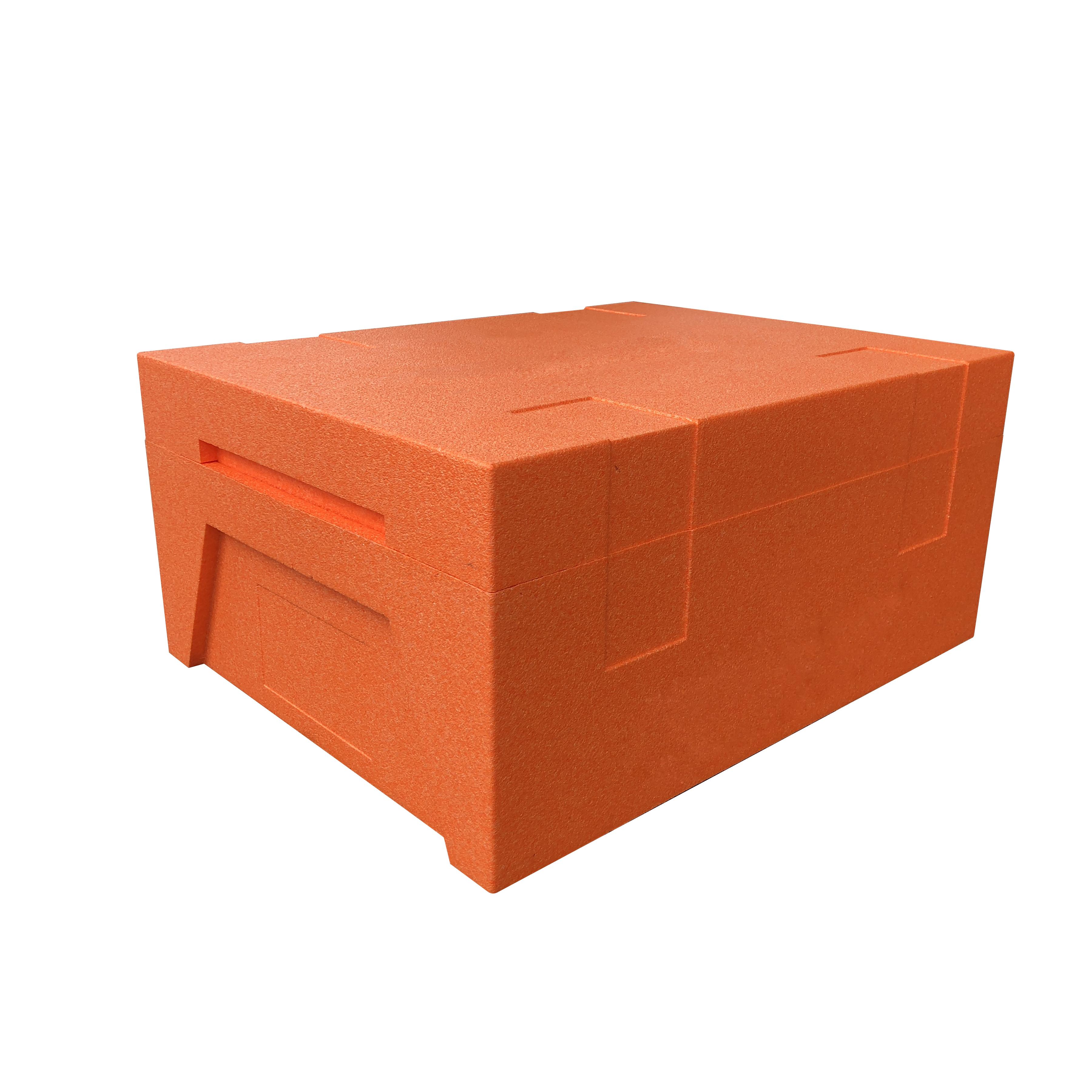 冷鏈-橙色周轉箱