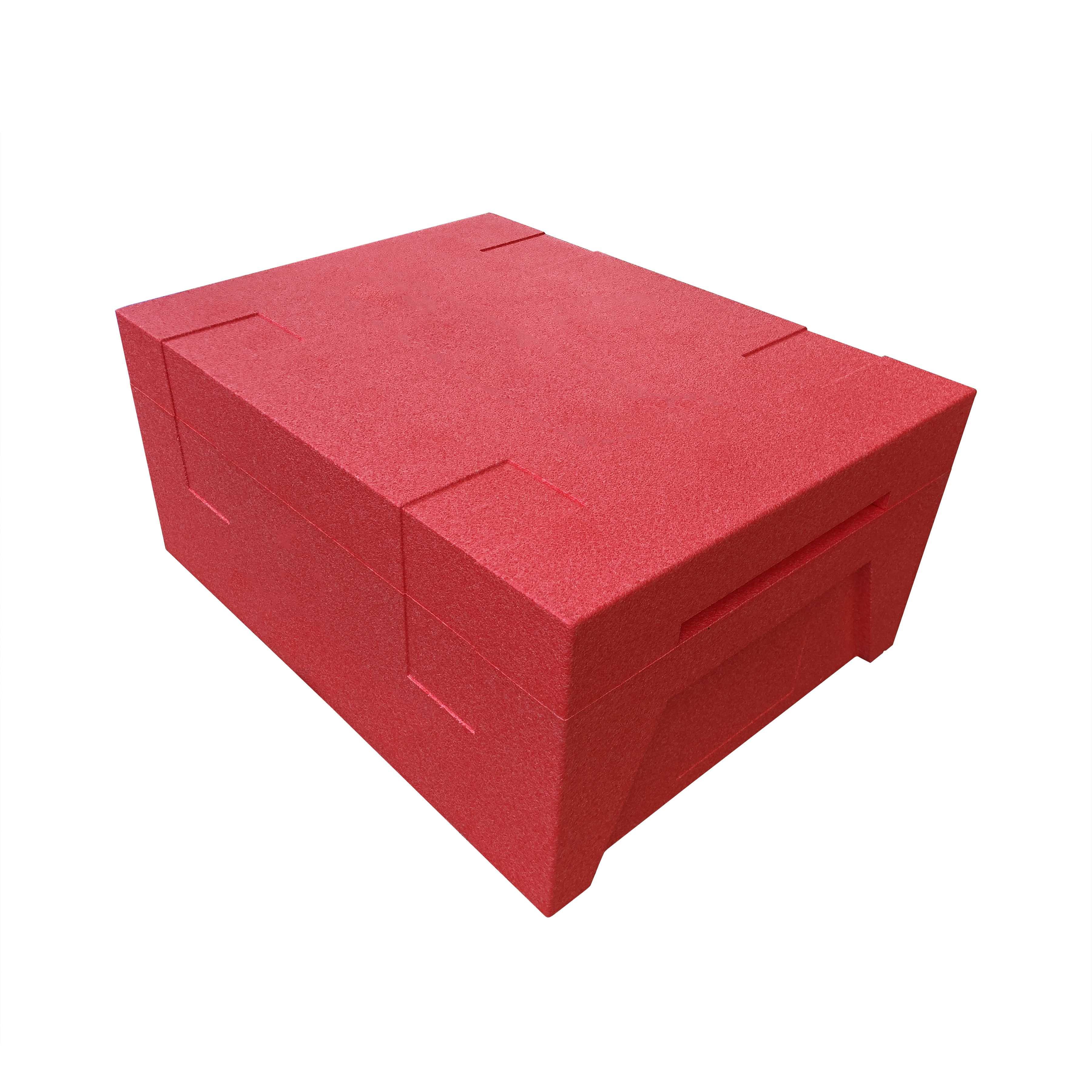 冷鏈-紅色周轉箱