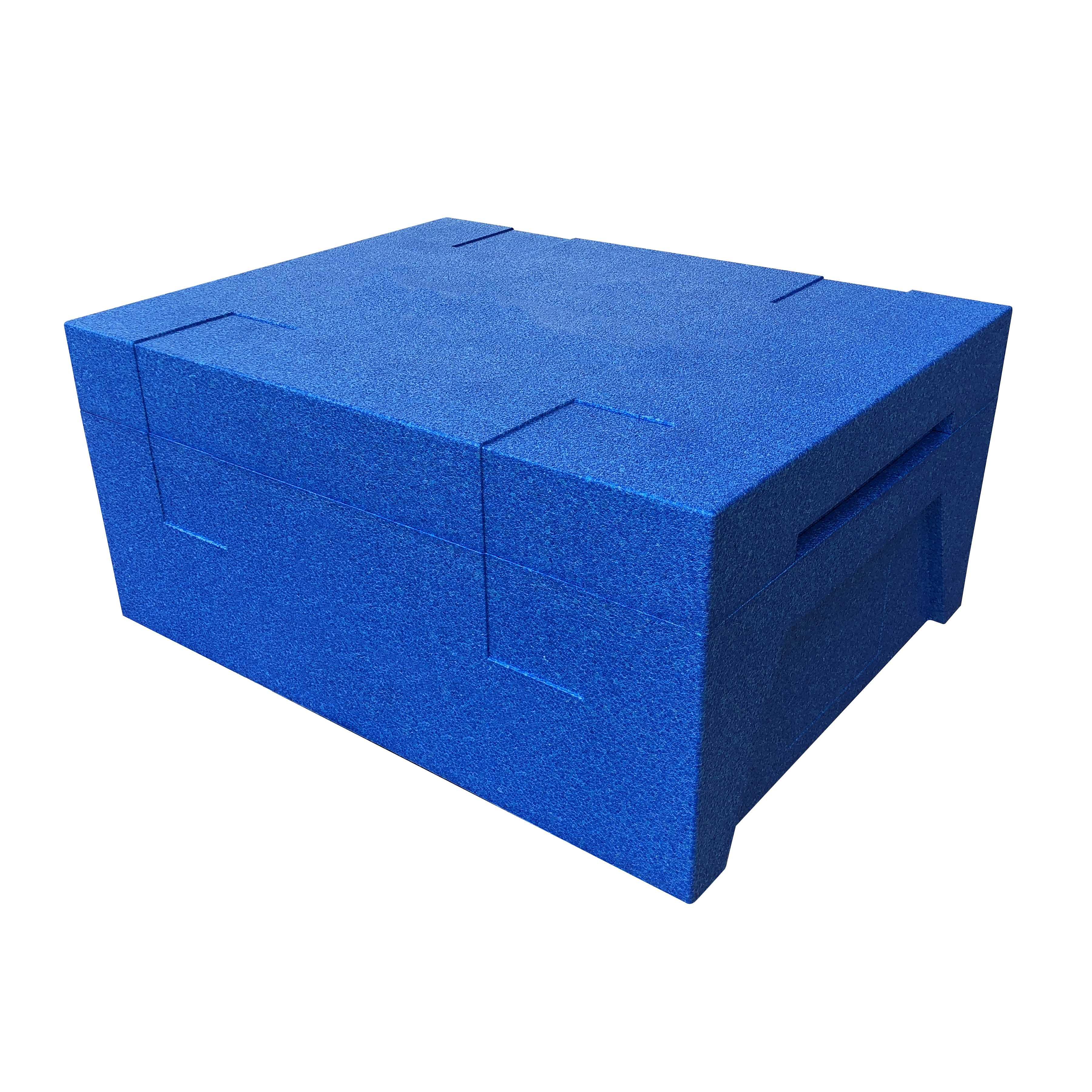 冷鏈-藍色周轉箱