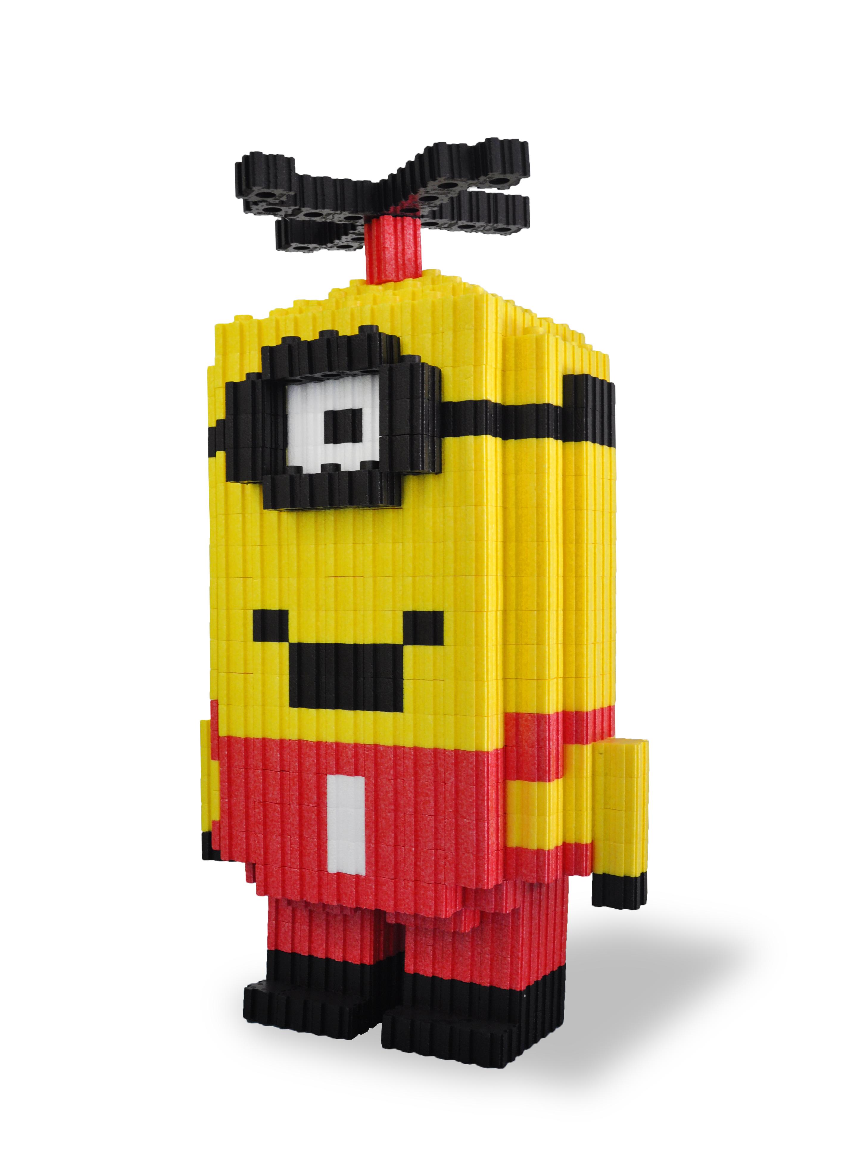 玩具-10小黃人積木