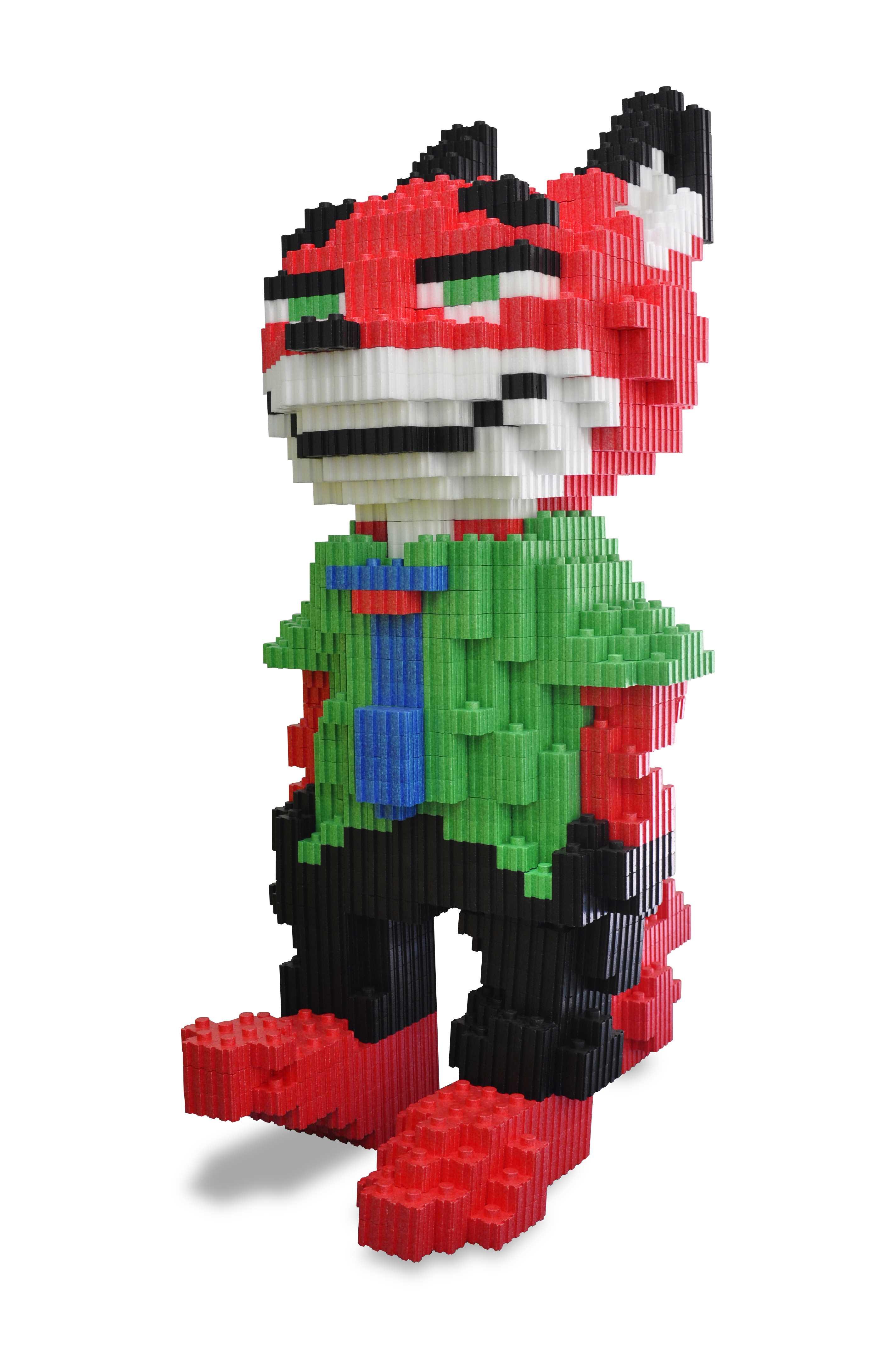 玩具-9狐貍積木