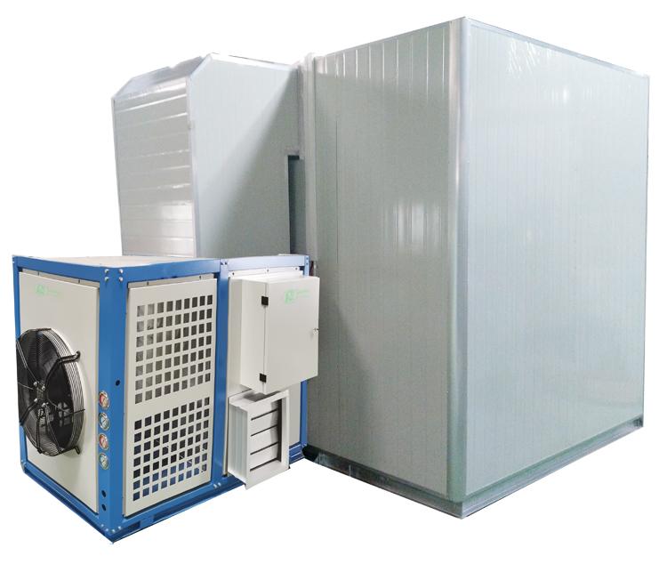 热泵一体式带柜单机图750