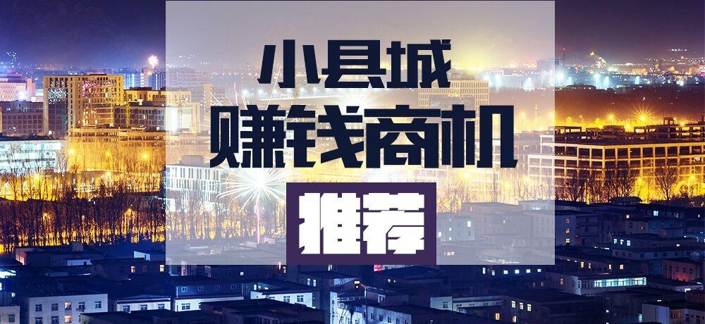 小县城赚钱项目推荐