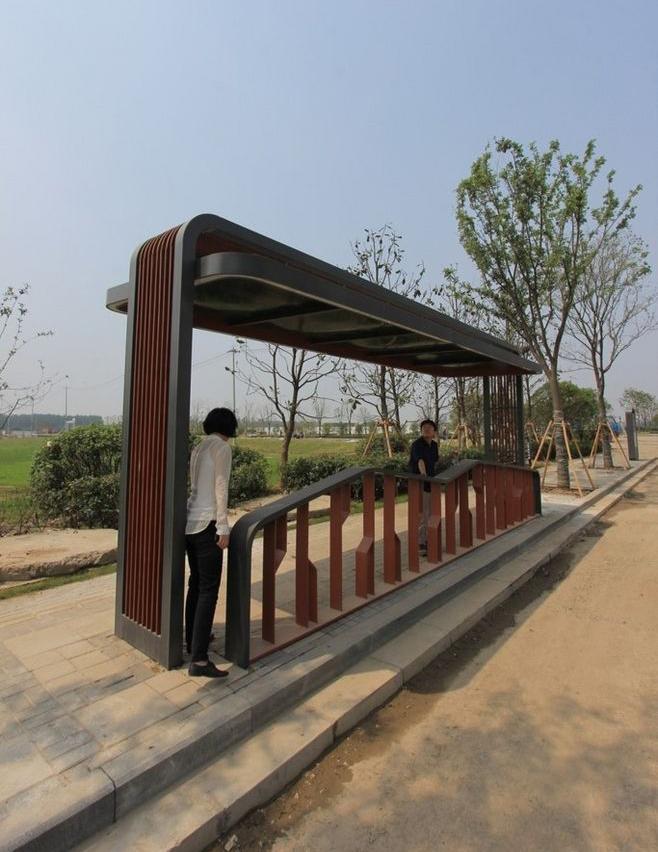 公交车站2