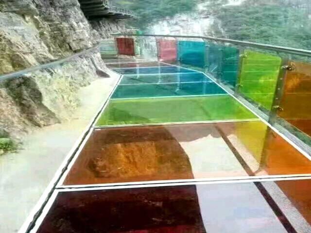 十渡玻璃栈道
