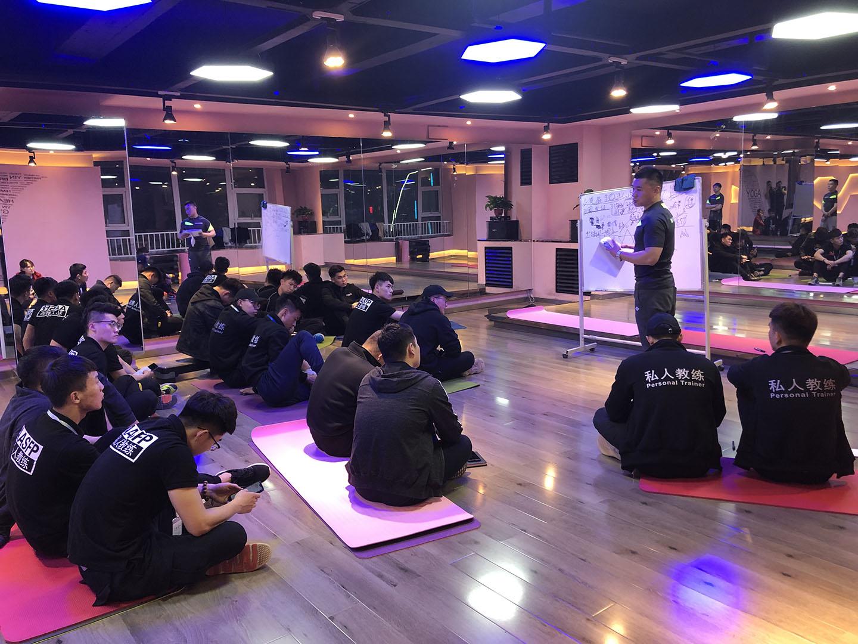 集锐健身培训学院正式成立山西省晋中市校区2