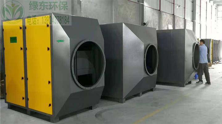 活性炭吸附器生产车间
