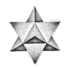 纹身图案-星形