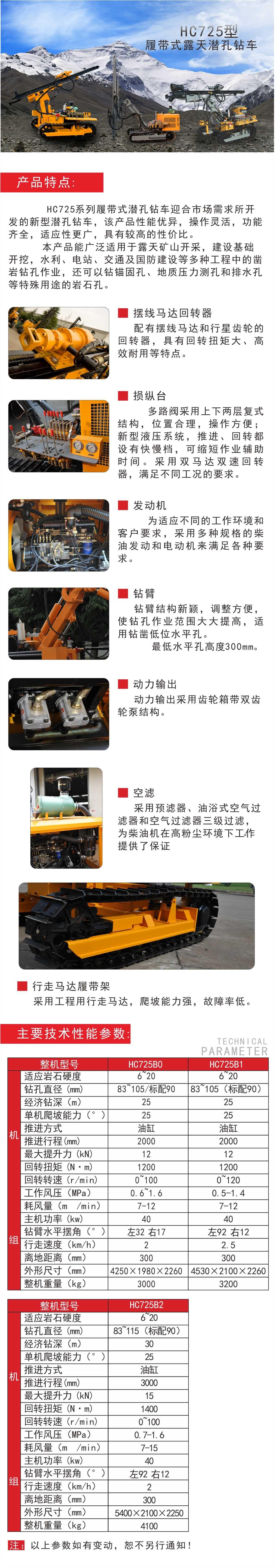 鉆車H725
