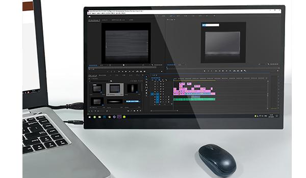 笔记本外接显示器屏幕怎样连接便携显示器