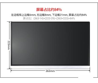 奥斯曼高清便携显示器,小屏幕更便携