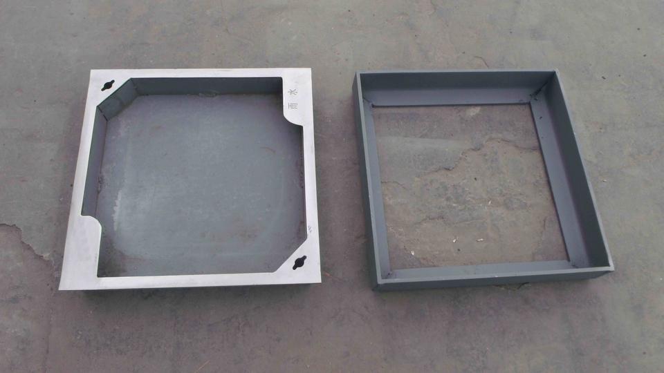 不锈钢井盖一般采用不锈钢板制作