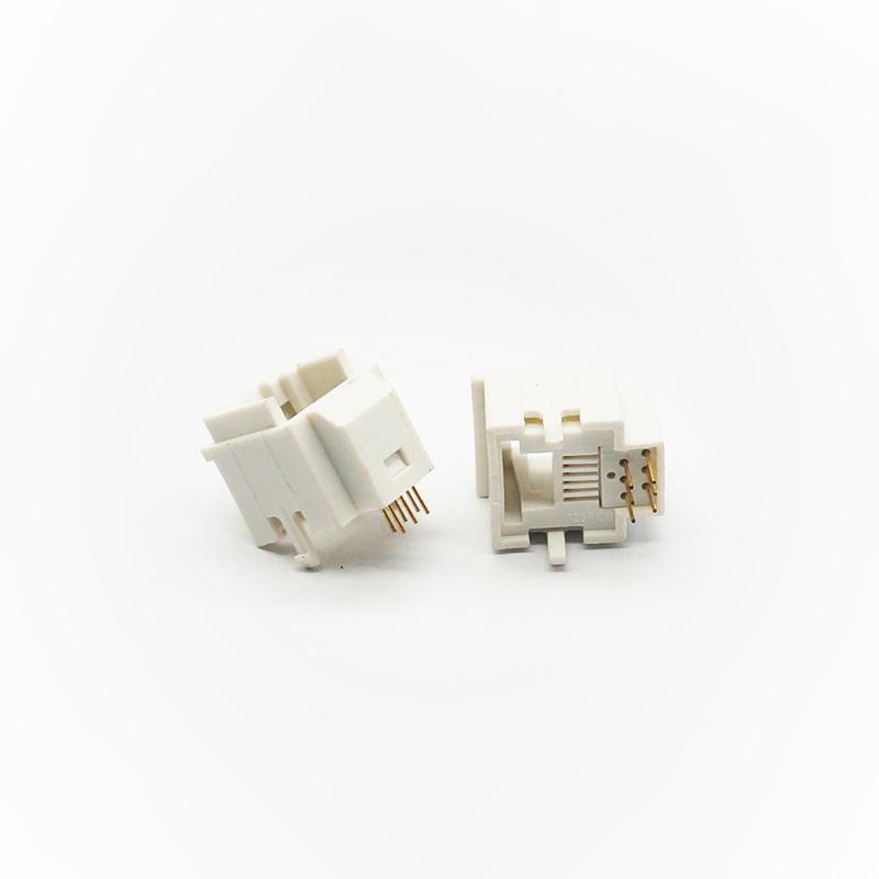 网线插座RJ45-6P6C白.2