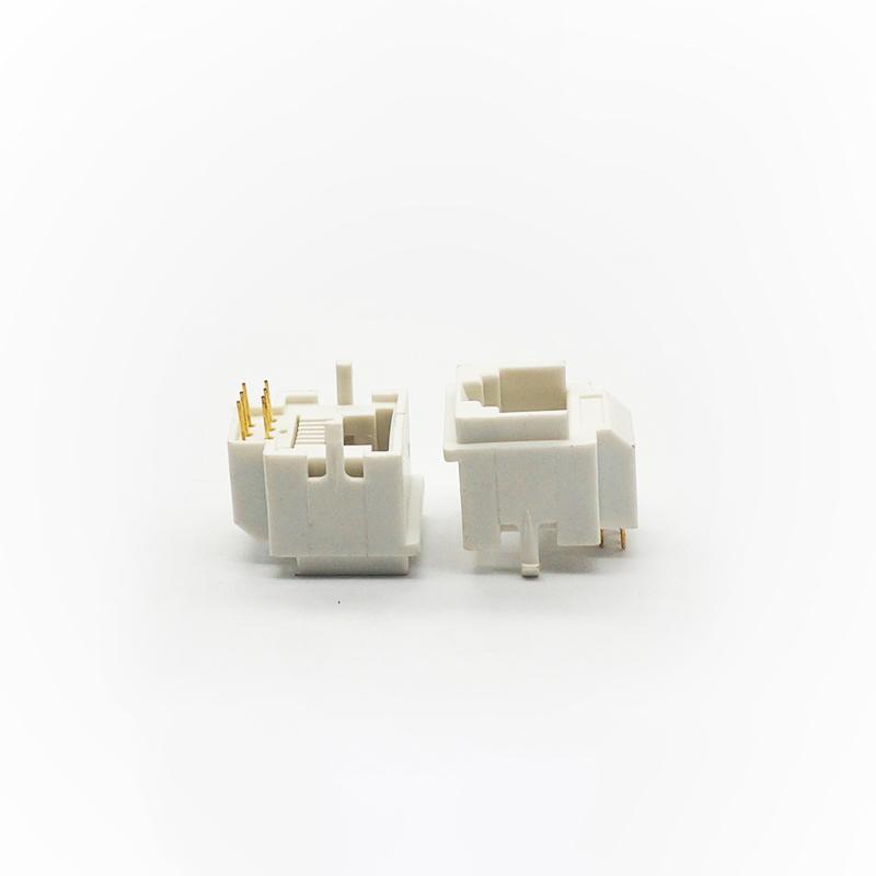 网线插座RJ45-6P6C白