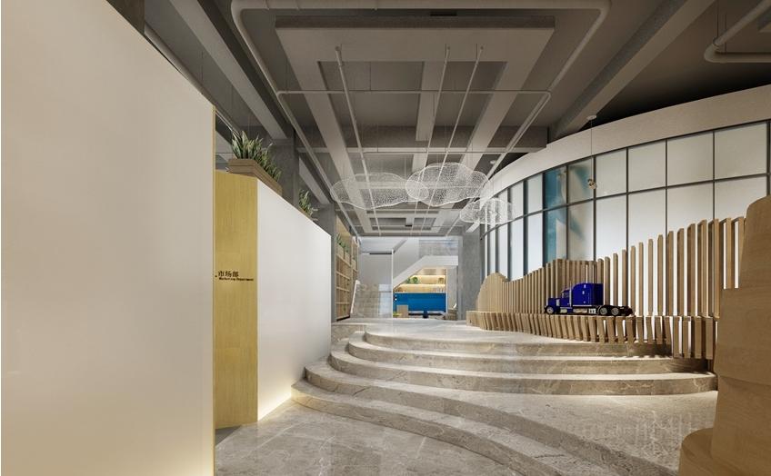 杭州办公室装修设计公司案例