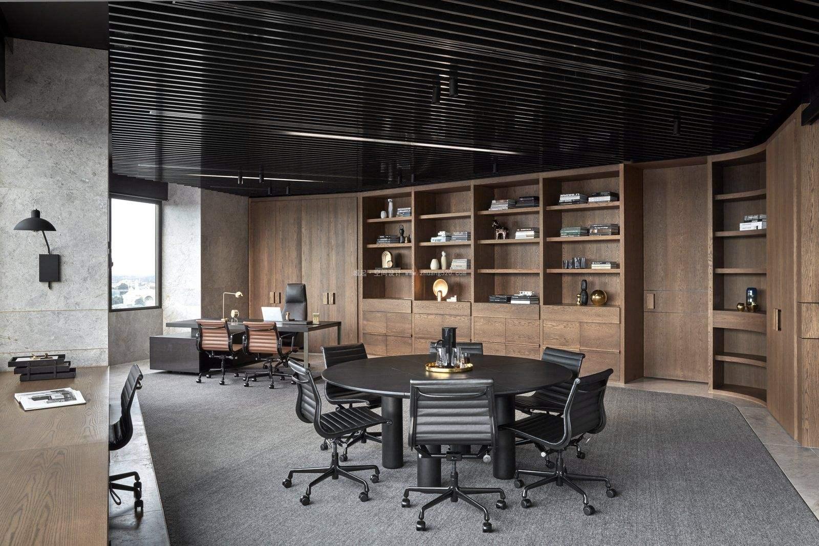 老板办公室装修设计方案有什么讲究