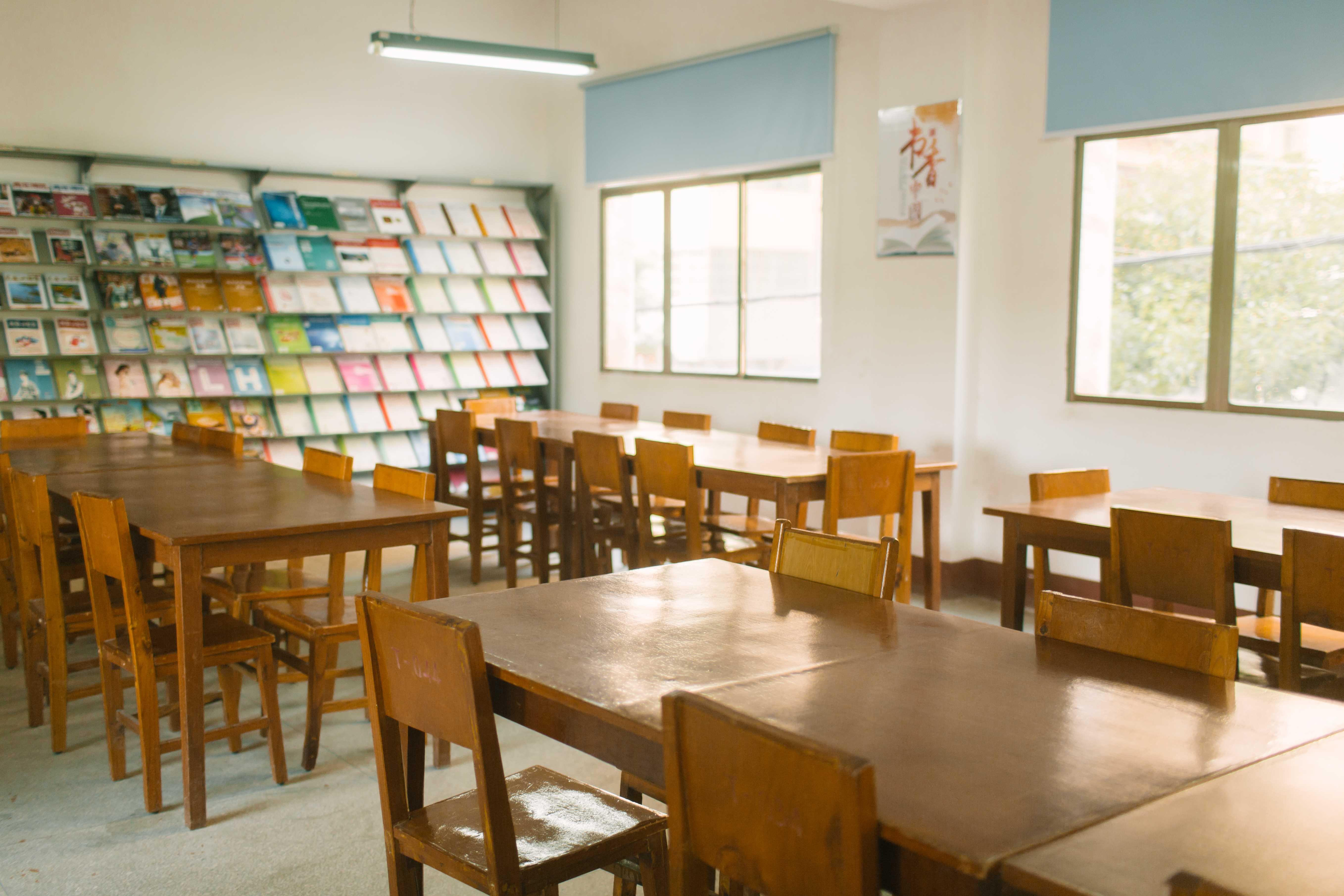 阅览室一角
