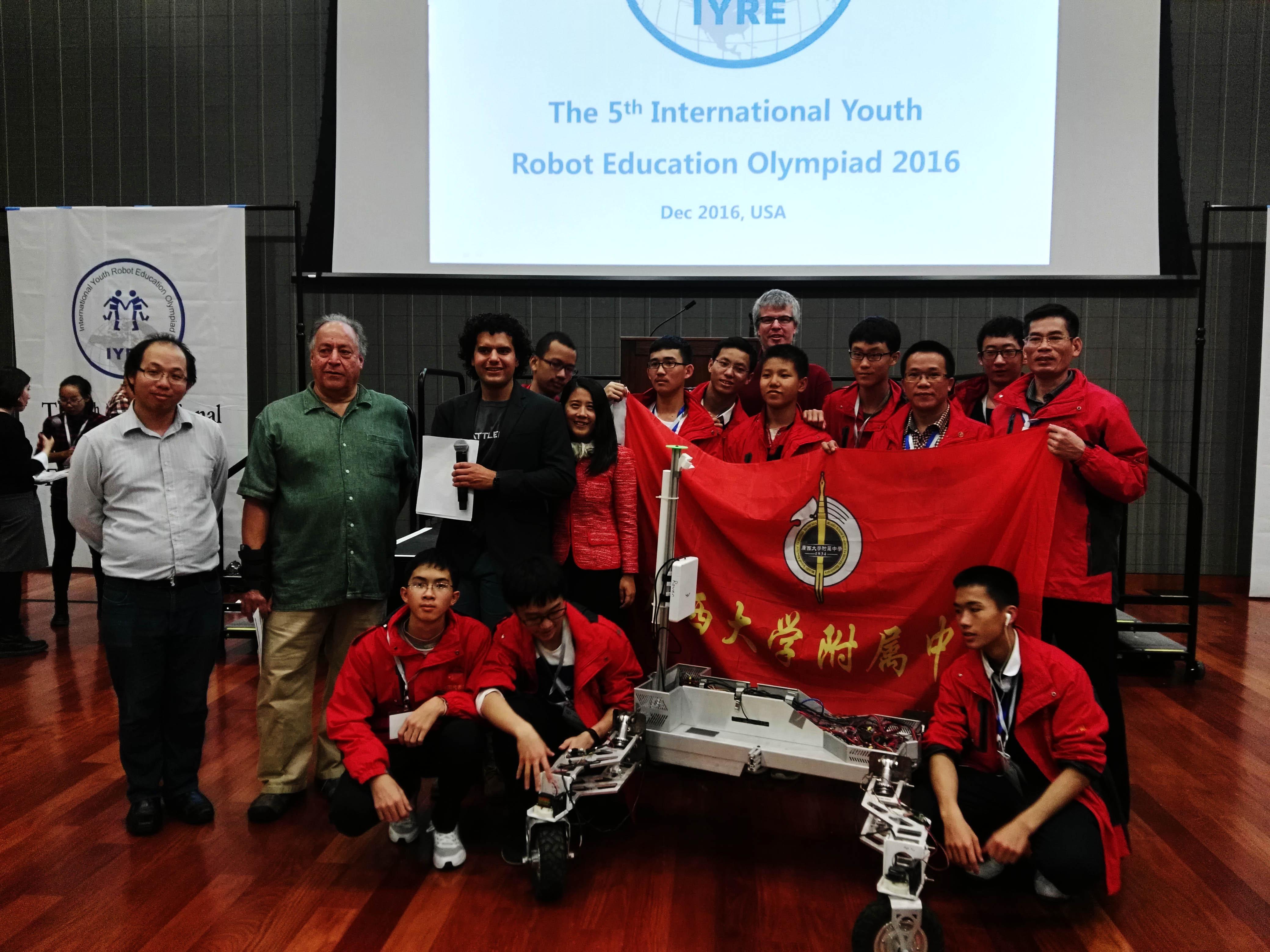 1-机器人代表队赴美国参赛喜获1金1银1铜