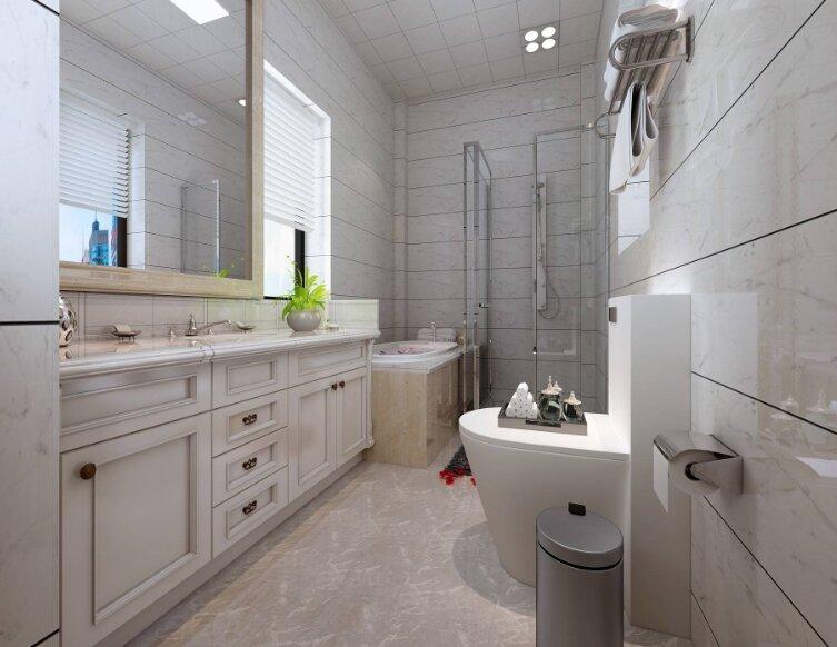 卫生间装修怎么布局,家庭卫生间装修如何布置-1