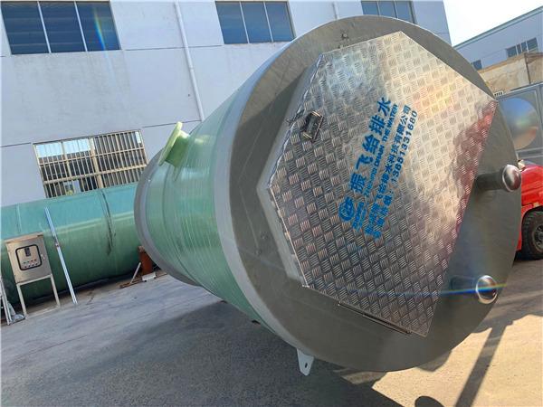 日处理生活污水500吨地埋式一体化提升泵站