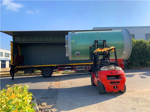 玻璃钢一体化预制泵站施工流程