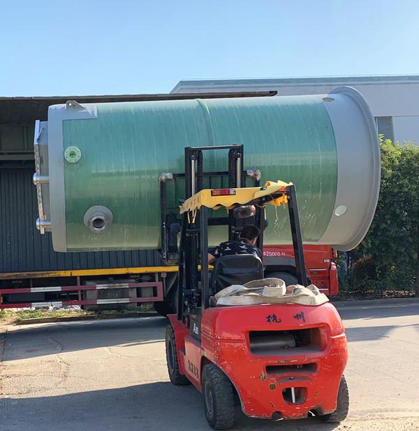 中外(中美)合资品牌水泵一体化污水提升泵站