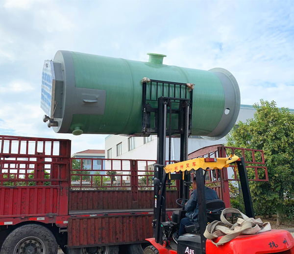 地埋式排水设备一体化污水提升泵站施工流程