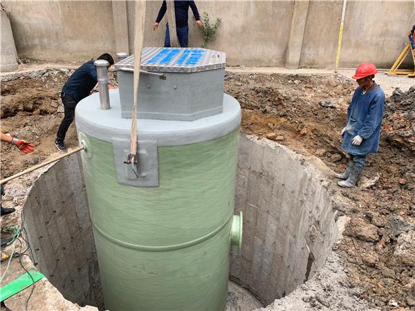 地埋式污水提升一体化预制泵站