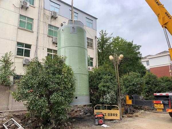 日处理600/天立方地埋式一体化污水提升泵站