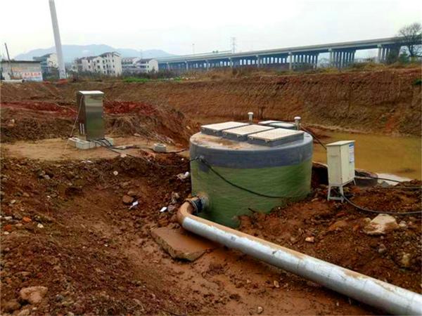 一体化污水提升泵站_一体化预制泵站_一体化泵站厂家-地埋式一体化预制泵站