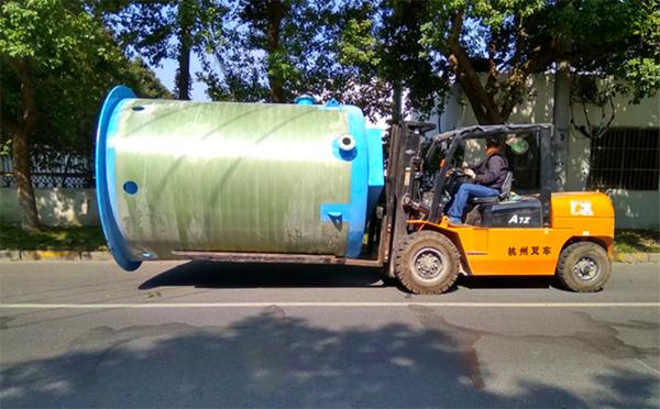 一体化污水提升泵站_一体化预制泵站_一体化泵站厂家-江西一体化污水泵站项目