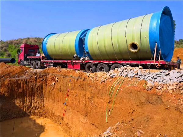 一体化污水提升泵站_一体化预制泵站_一体化泵站厂家-苏州一体化提升泵站项目