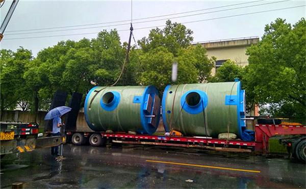 一体化污水提升泵站_一体化预制泵站_一体化泵站厂家-苏州一体化污水泵站价格