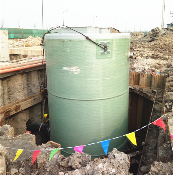 一体化预制泵站_一体化污水提升泵站价格-振飞给排水-一体化污水处理泵站
