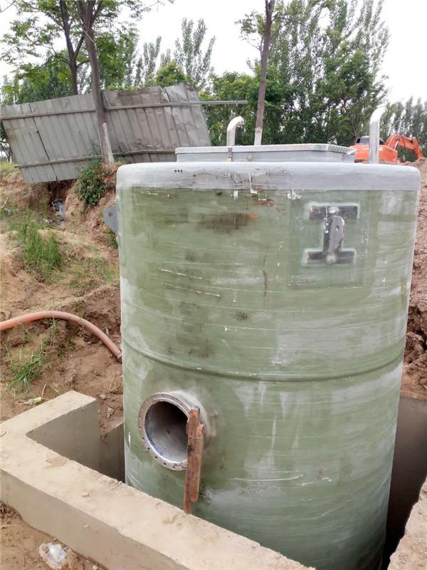 江苏徐州玻璃钢一体化污水提升泵站项目案例