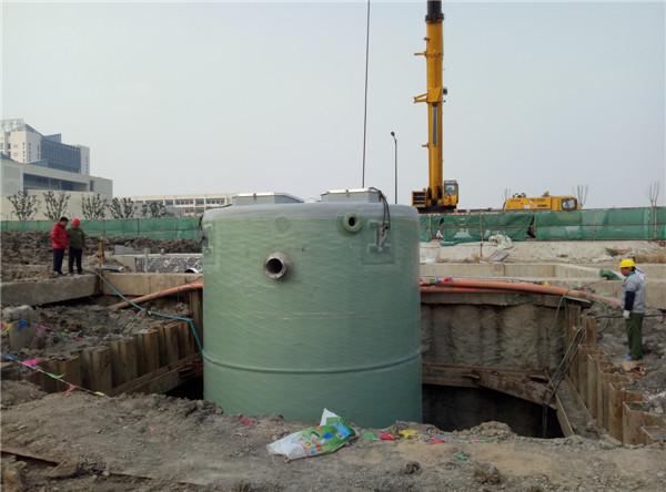 一体化预制泵站_一体化污水提升泵站价格-振飞给排水-地埋式一体化预制泵站