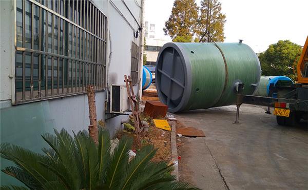 一体化污水提升泵站_一体化预制泵站