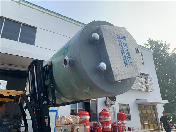 GPRS远程控制污水提升一体化泵站