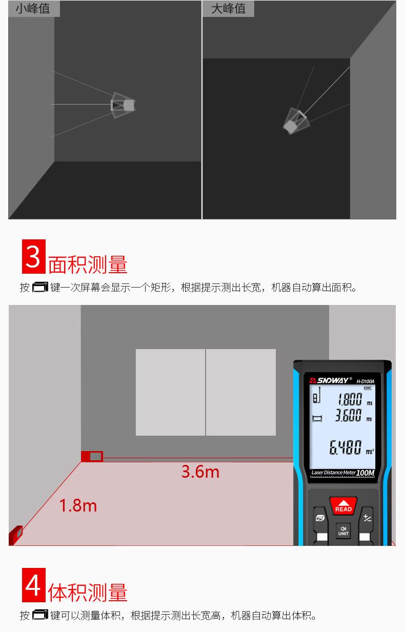 深达威激光测距仪红外线电子尺高精度激光尺测量工具手持量房仪-tmall_05