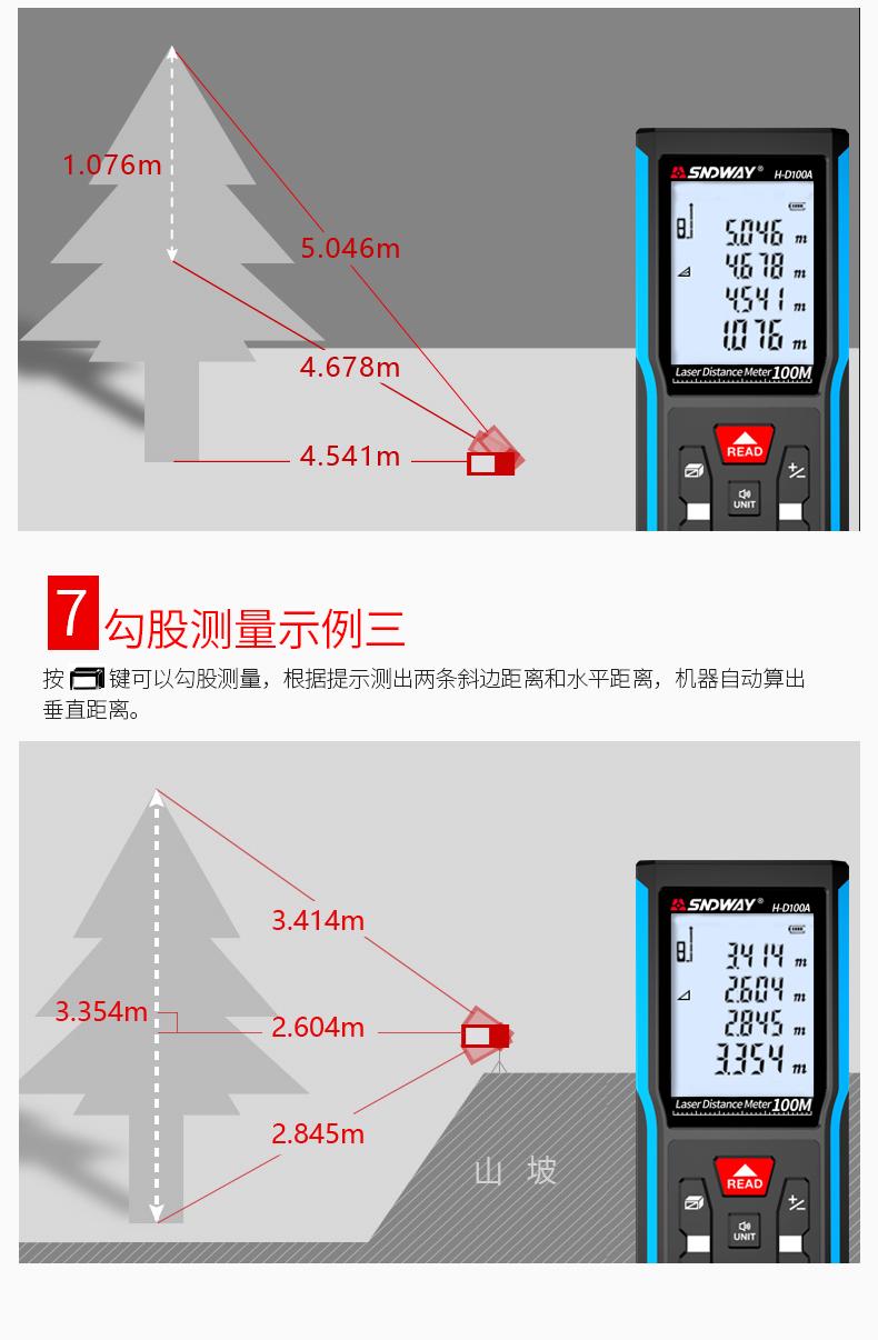 深达威激光测距仪红外线电子尺高精度激光尺测量工具手持量房仪-tmall_07