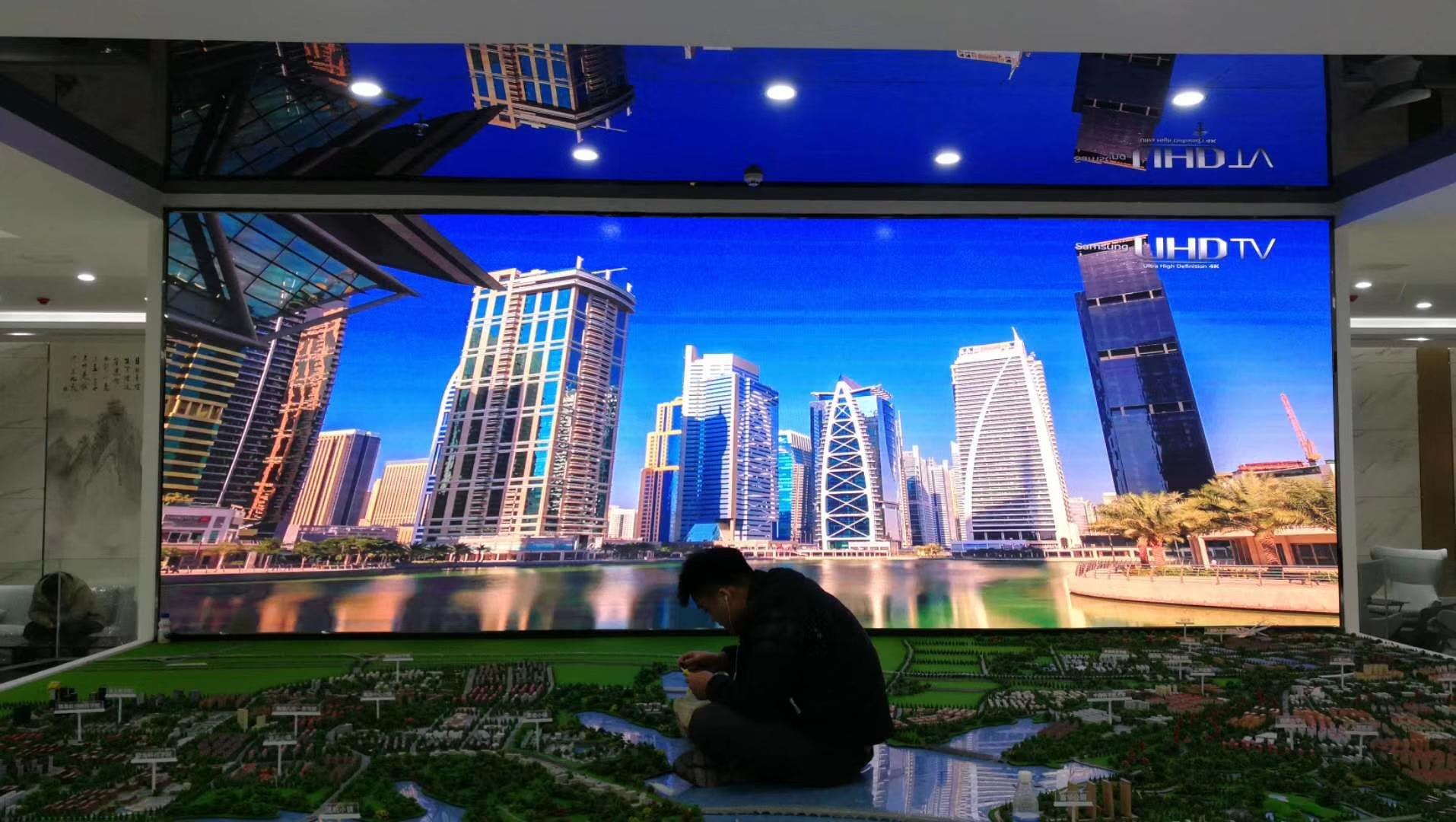 江西九江市共青城基金小镇集成显示项目3