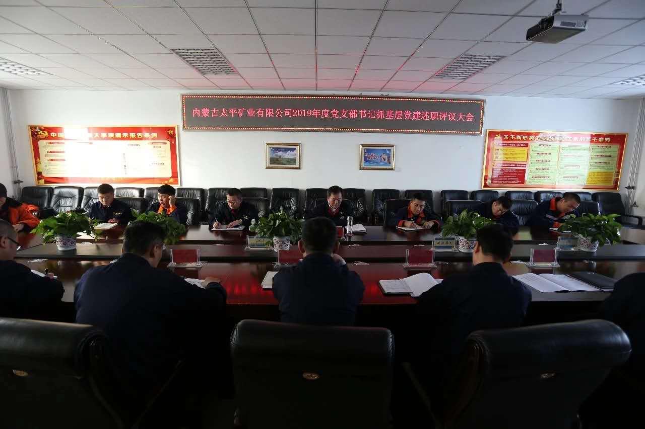 內蒙古太平黨委組織召開黨支部書記抓基層黨建述職評議大會-3