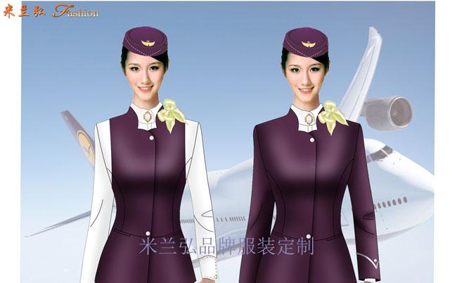 空姐服定制|圖片_價格_參數_面料_尺寸-米蘭弘服裝