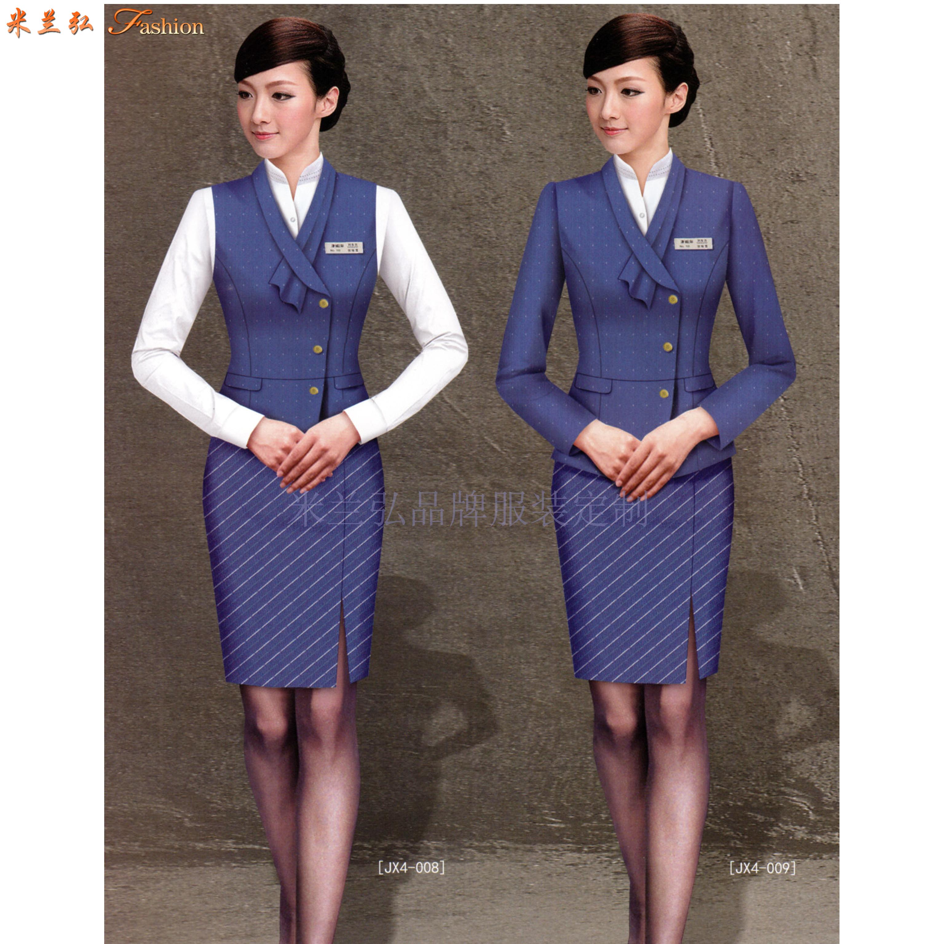 机场工作服-北京大兴国际机场地勤VIP、客服职业装量身定做-1