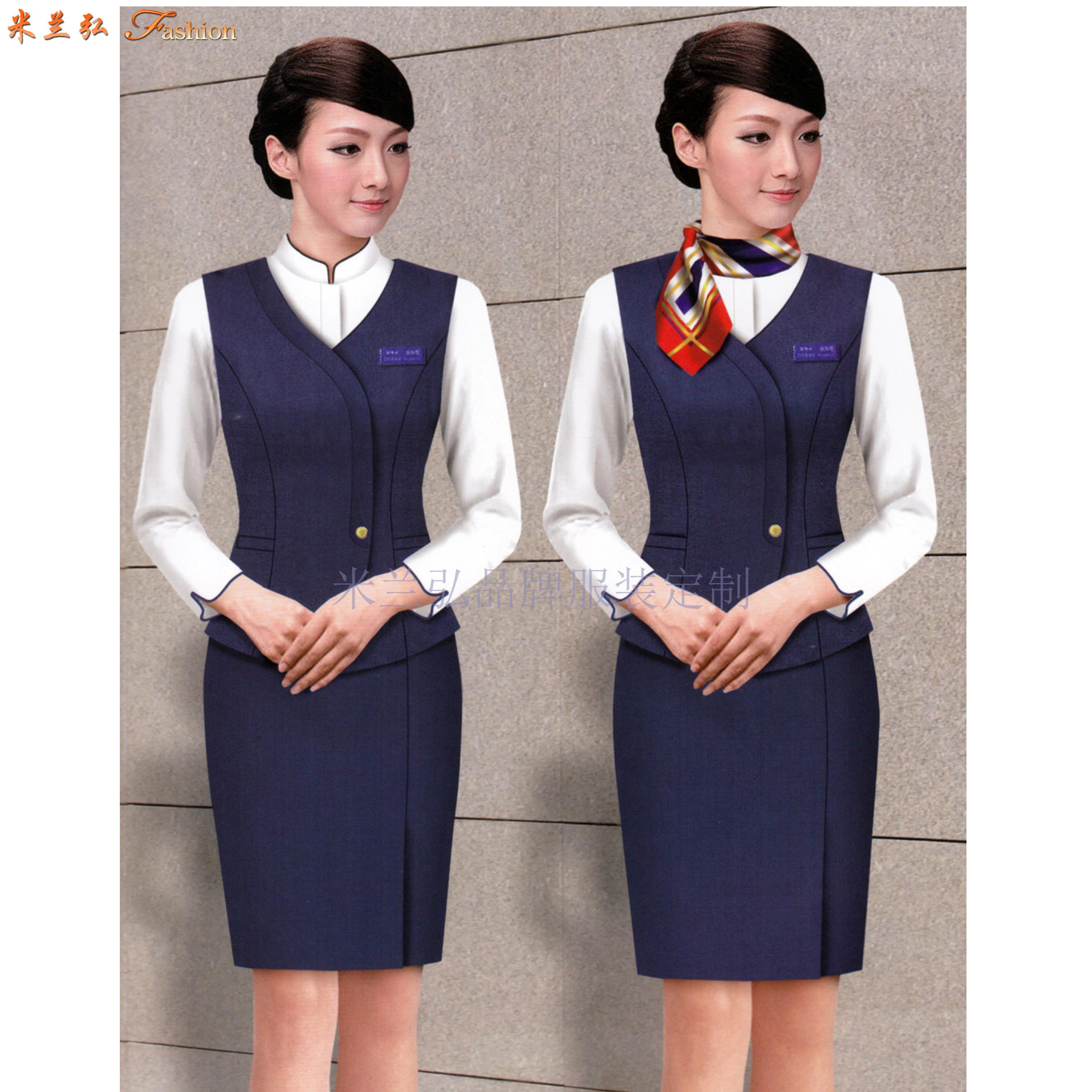 机场工作服-北京大兴国际机场地勤VIP、客服职业装量身定做-2