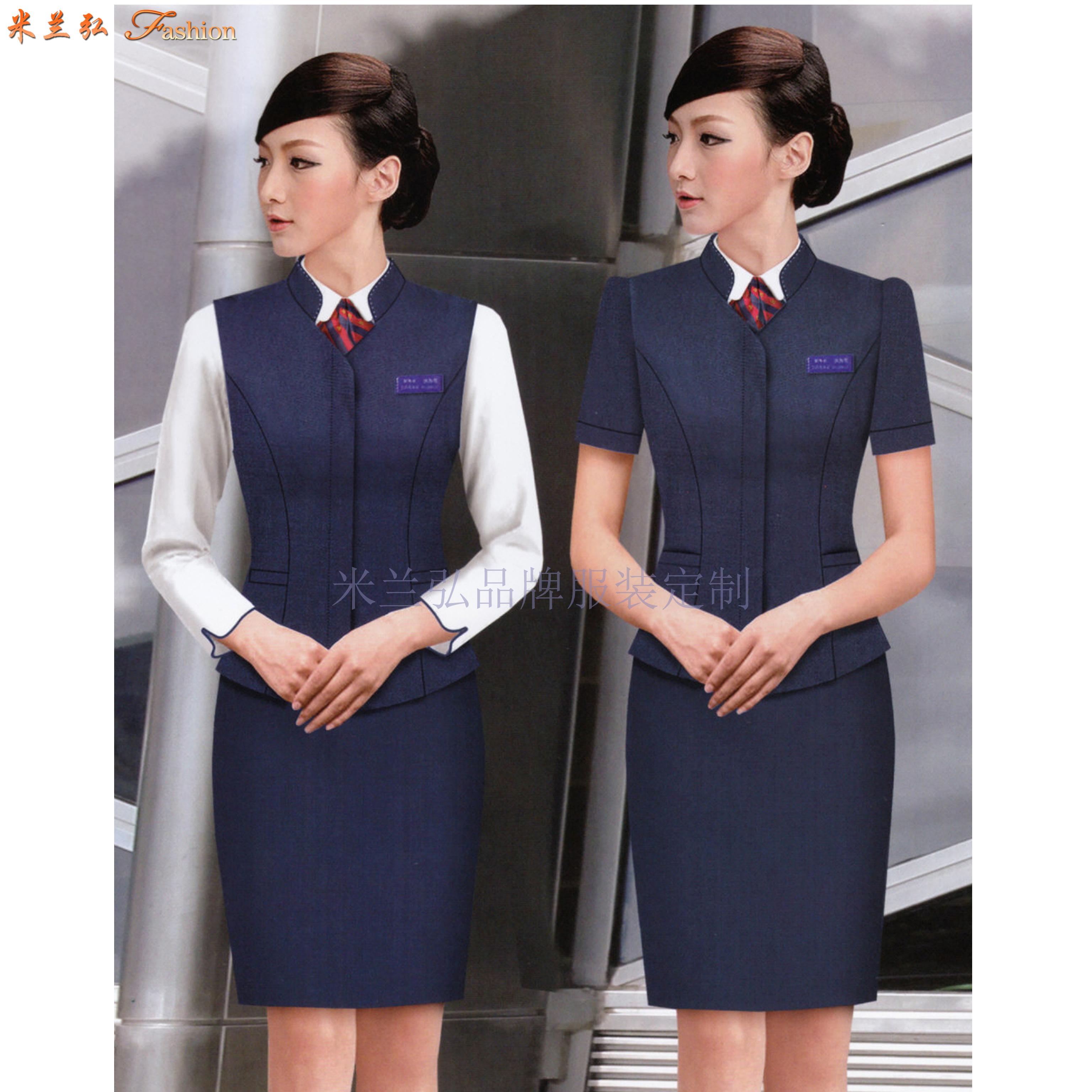 机场工作服-北京大兴国际机场地勤VIP、客服职业装量身定做-3