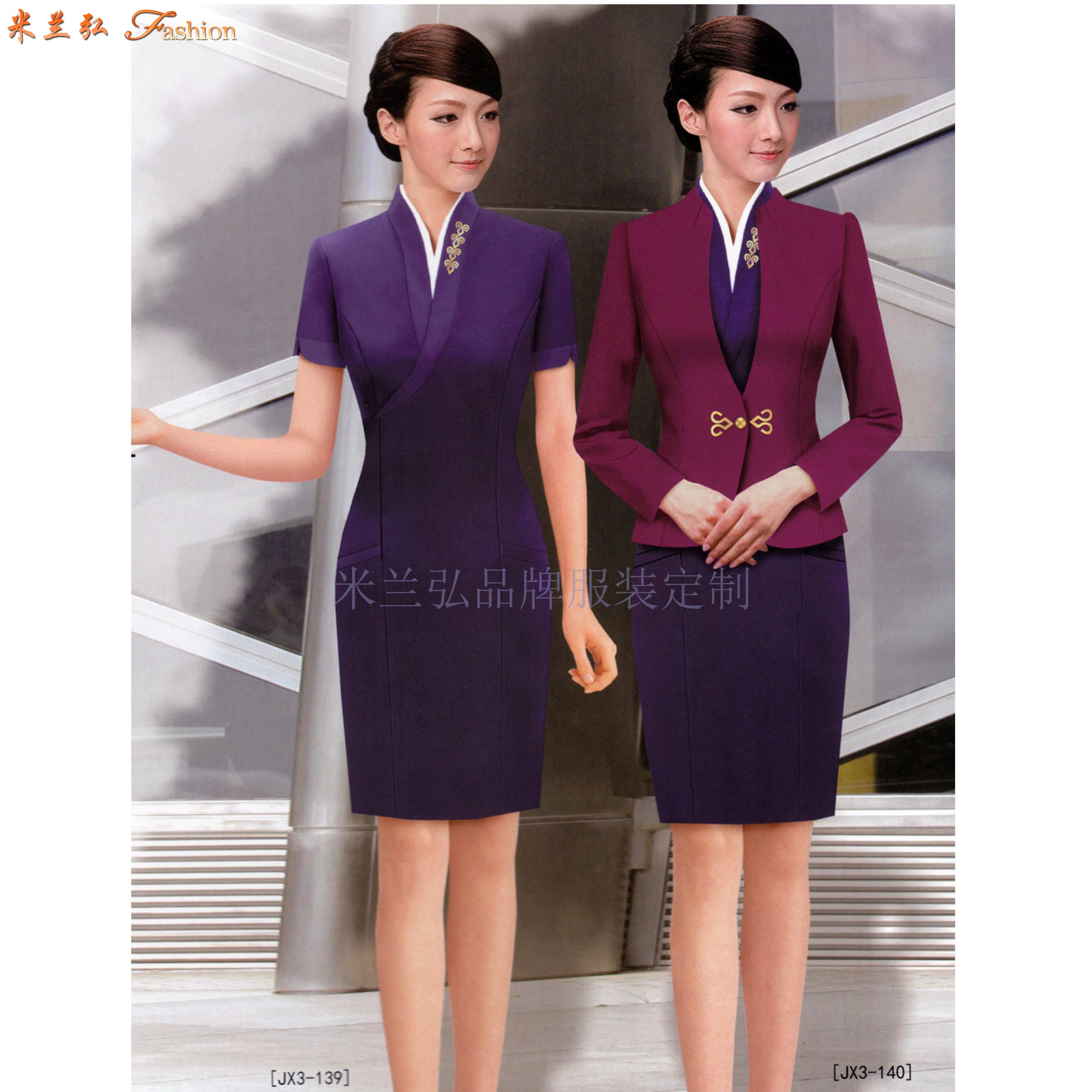 机场工作服-北京大兴国际机场地勤VIP、客服职业装量身定做-4